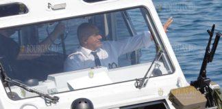 Премьер-министр Болгарии посетил военно-морские учения Бриз-2019