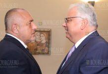 Премьер-министр Болгарии встретился с президентом Международной федерации борьбы