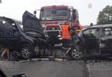 В ДТП на дороге Бургас-Варна погибла гражданка Украины