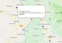 1 августа 2018 года на Западе Болгарии произошло землетрясение
