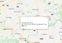 10 августа землетрясение в Болгарии
