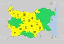 10 августа жаркий Желтый код в Болгарии