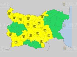 11 августа жаркий Желтый код в Болгарии