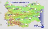 16 августа погода в Болгарии