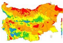 25 августа пожараопасность в Болгарии