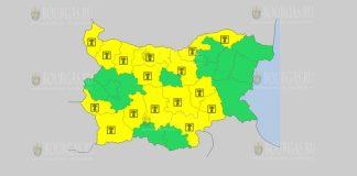 8 августа жаркий Желтый код в Болгарии