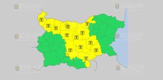 9 августа жаркий Желтый код в Болгарии