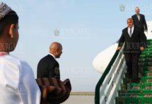 Бойко Борисов прибыл в Туркменистан