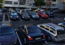 Новая парковка на 50 машин открылась в спальном районе Бургаса
