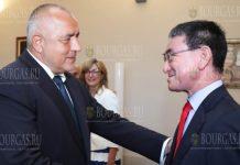 Премьер-министр - Бойко Борисов провел беседу с министром иностранных дел Японии - Таро Коно