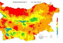 1 сентября пожароопасность в Болгарии