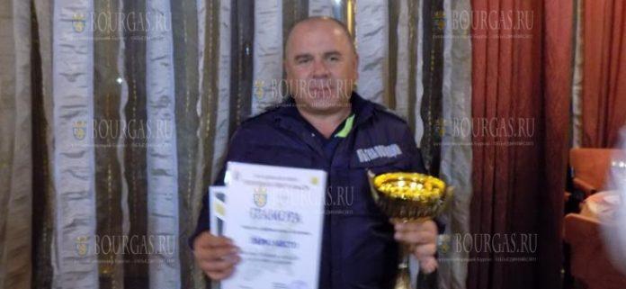 Марин Кондов в Болгарии избран сотрудником дорожной полиции года