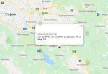 14 октября землетрясение в Болгарии