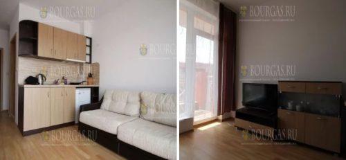 250 евро за меблированные апартаменты на Солнечном берегу
