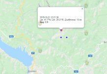28 октября землетрясение в Болгарии