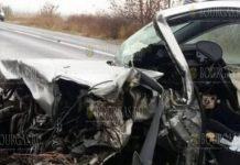 Произошла авария на трассе Айтос - Карнобат, водитель погиб