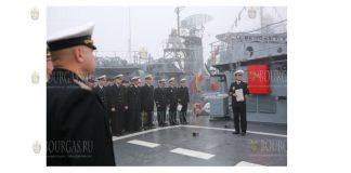 Прошло 14 лет с момента принятия фрегата Дръзки в состав ВМС страны