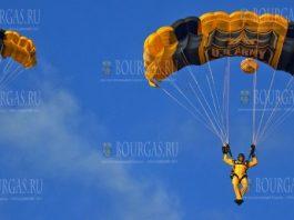 в Болгарии отмечают День парашютиста