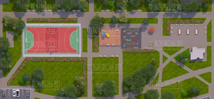 В Бургасе проводят ремонт парков в ЖК Изгрев и Славейков