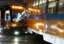 В центре Софии столкнулись два трамвая, обошлось без жертв