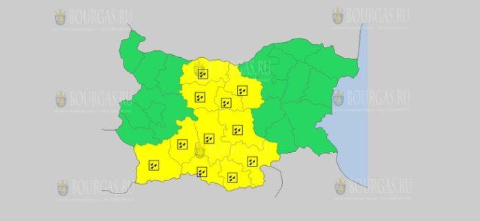 22 ноября Желтый код в Болгарии