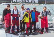 экипаж болгарской яхты Эспресо Мартини установили мировой рекорд скорости