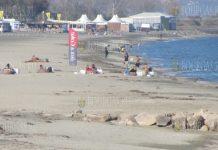 Пляжи в Бургасе даже в ноябре оказались востребованными