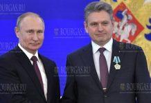 РФ наградила председателя Национального движения Русофилы в Болгарии - Николая Малинова российским орденом Дружбы