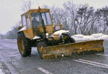 Снег покрыл перевал Шипка в Болгарии