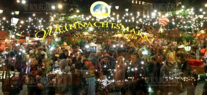 В Софии заработал Немецкий Рождественский базар