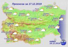 17 декабря погода в Болгарии