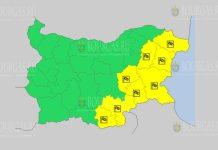30 декабря Желтый код в Болгарии