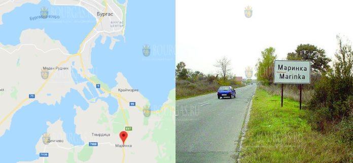 Туристический автобус загорелся в Бургасской области