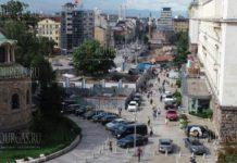 В Софии обновит площадь Святой Недели