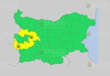 19 января Желтый код в Болгарии