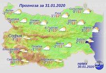 31 января погода в Болгарии