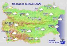 6 января погода в Болгарии