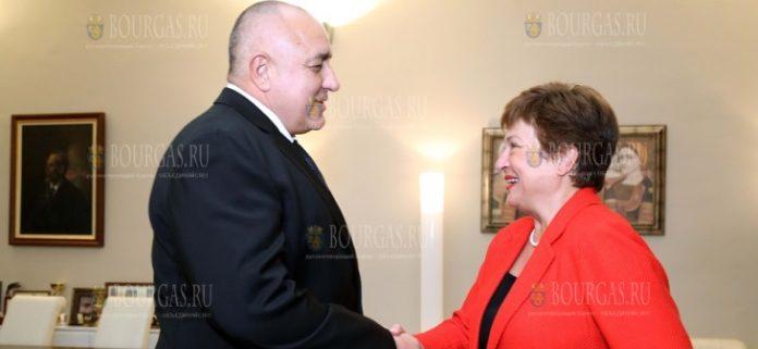 Бойко Борисов и Кристалина Георгиева