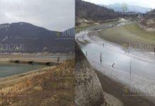 Озеро в Цонево продолжает высыхать