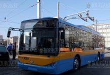 В Софии на маршрут №123 вышли 3 новеньких электробуса