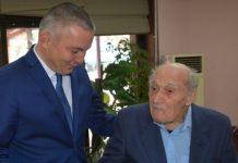 В Варне поздравили 104-летнего Димитра Спасова