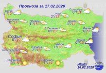 17 февраля погода в Болгарии