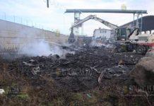 В Бургасе в огне сгорели 20 автомобилей