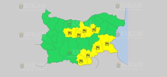 3 марта Желтый код в Болгарии