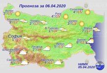6 апреля погода в Болгарии