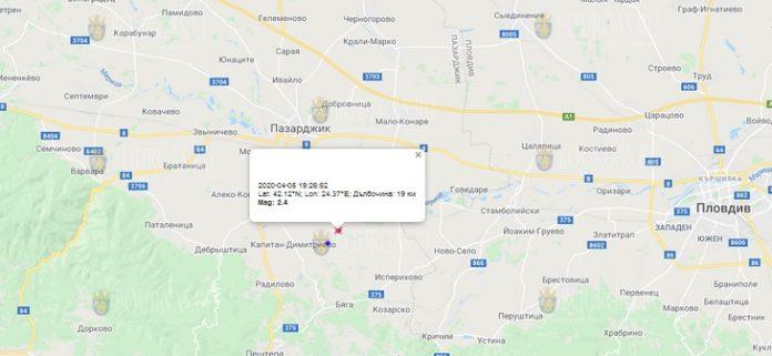 6 апреля землетрясение в Болгарии