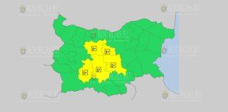 21 мая Желтый код в Болгарии
