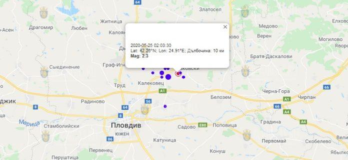 25 мая землетрясение в Болгарии