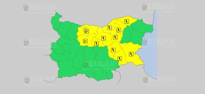 4 мая Желтый код в Болгарии