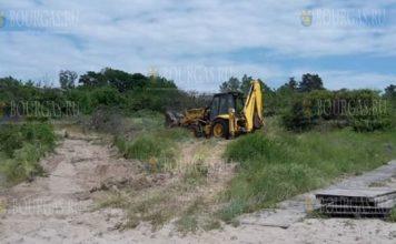 Пострадали дюны на пляже в Ахтополе